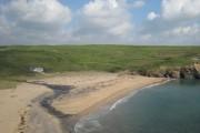The beach at Church Cove