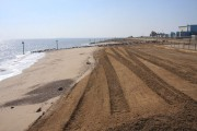 Replenished beach at South Felixstowe