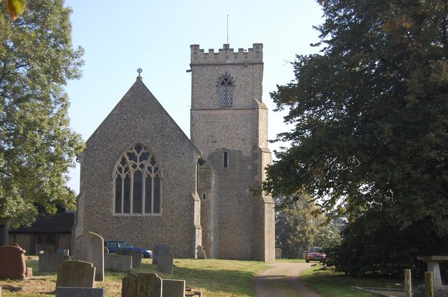 St Mary and St Peter, Barham