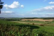 Farmland near Madeley Park