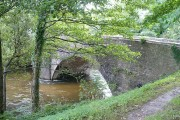 Bridge over the River Rhymney south of Bedwas