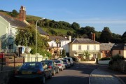 Lower end of Fore Street, Bishopsteignton