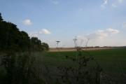 Farmland by the bridleway