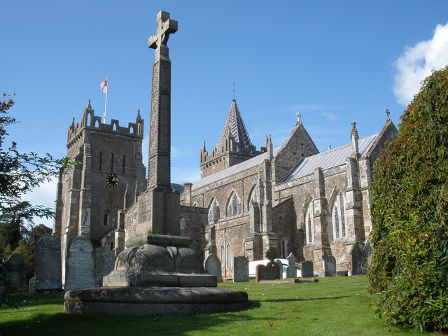 St Mary's parish church, Ottery St Mary