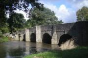 Teme Bridge at Leintwardine