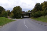 A12 Bridge over B1029 Upper Street