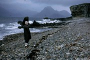 Elgol Beach in the Rain