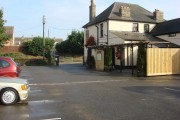 The Long Melford Inn, car park