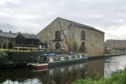 Warehouse and Canal Cottage at Dugdale Wharf