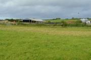 View to Keward Farm, Pawlett
