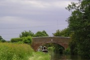 The Coventry Canal north of Huddlesford, Staffordshire