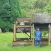 Prinknash Abbey Monk chiming bells