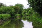 Trent and Mersey Canal approaching Handsacre, Staffordshire