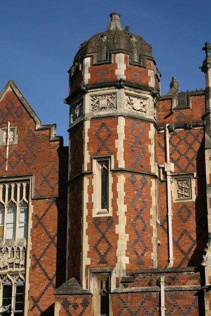 Tower on North Leamington School