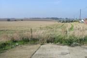 Farmland next to Manston Court Road