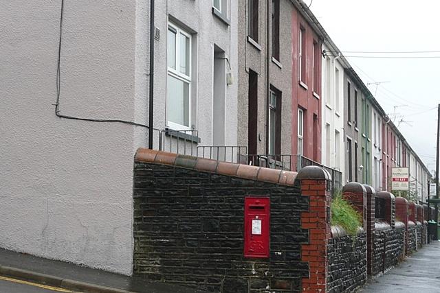 George V postbox, Abercwmboi