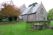Little Cowarne church and graveyard
