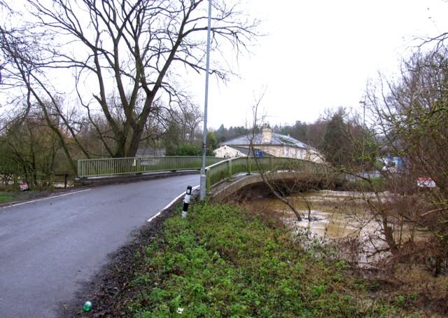 Broome Lane crosses the Wreake