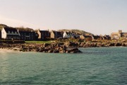 Baile Mor from the ferry