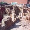 Priory undercroft excavations, 2001