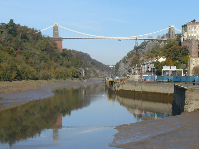 Clifton Suspension Bridge - Looking downstream