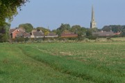 The village of Bottesford, Leicestershire
