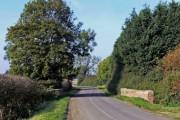 Bridge along Bottesford Lane
