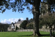 A quiet corner of Bolton-by-Bowland guarded by the Parish Church