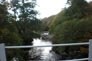 River Nairn from Weak Bridge near Leanach