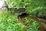 Bridge over a burn, Leith Hall