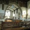 Interior of Combe church