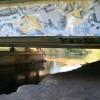 A Graffitied Beam Bridge