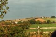 Open countryside near Miles Green