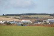 View towards Kirkhill Industrial Estate