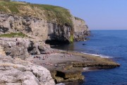Dancing Ledge from the west