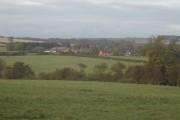 Warter village from Mill Lane