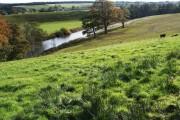 The River Annan near Kirkbank