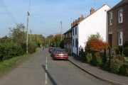 Church Lane in Muston, Leicestershire