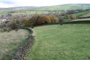 Towards Carr Farm