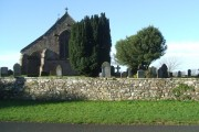 Lamplugh Church and graveyard