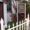 Information board at Edge End Methodist Church