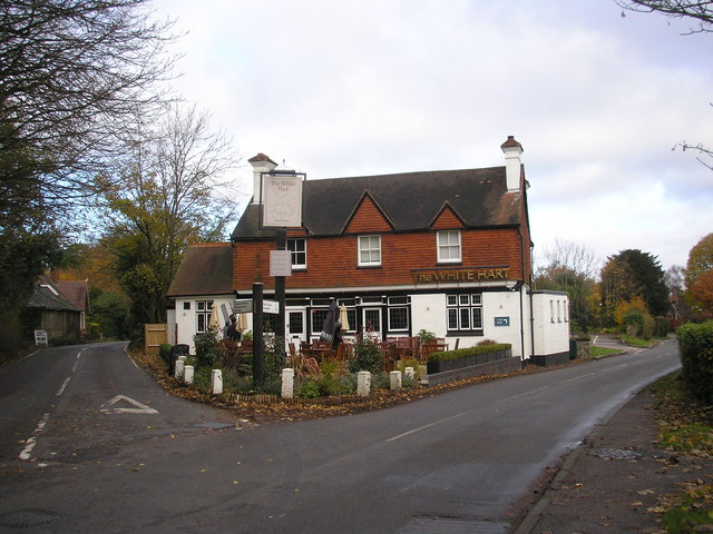 The 'White Hart', Chipstead Village