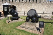 Italian Mortars Outside the Tower of London