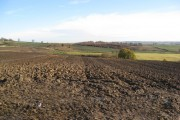 Parkgate Lane - View across farmland