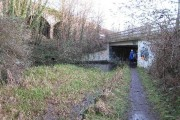 New Thames & Severn Canal bridge under Dr Newton's Way
