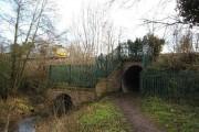 Stroudwater Canal culvert under Bristol & Gloucester Line