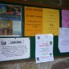 Notices in the Lych gate