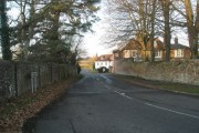 Looking along Bridge Street towards Back Lane