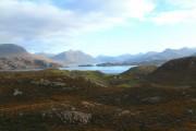 Ardheslaig, Loch Shieldaig and the Torridon mountains