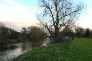 The River Derwent Flows Past Alvaston Park
